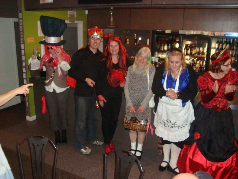 A Group Of Mad Hatters